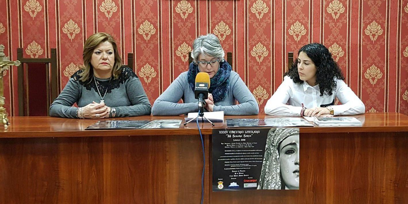 Presentada la XXXIV edición del Concurso Literario 'Mi Semana Santa' de la Cofradía del Santo Entierro