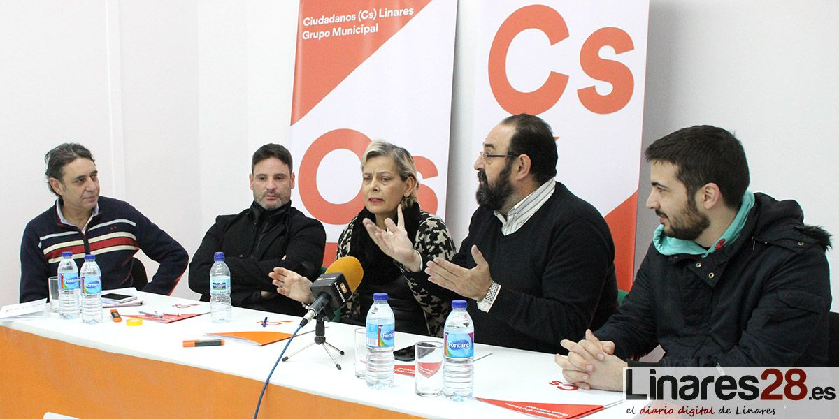 Ciudadanos Linares también pide responsabilidad al equipo de gobierno socialista