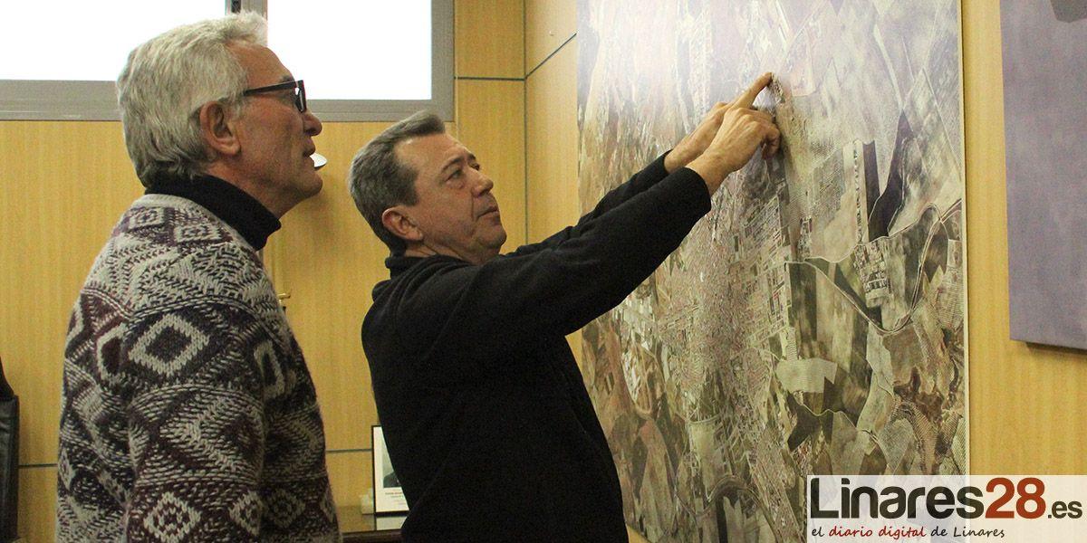 Juan Fernández y Diego Cañamero repasan en el Ayuntamiento las necesidades de Linares