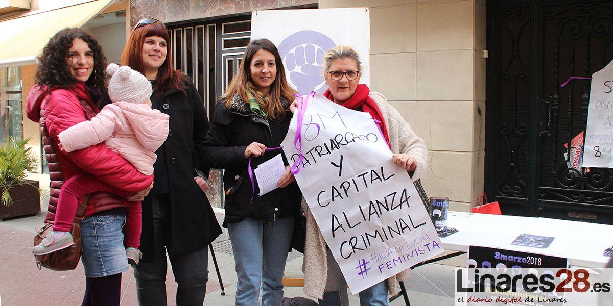 """Informan a los linarenses de la Huelga Feminista del """"8M"""""""