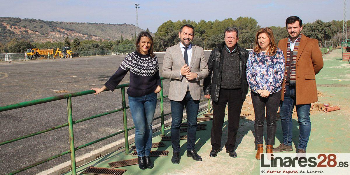 La Garza mejora sus piscinas y el campo de fútbol con una inversión cercana a los 450.000 euros
