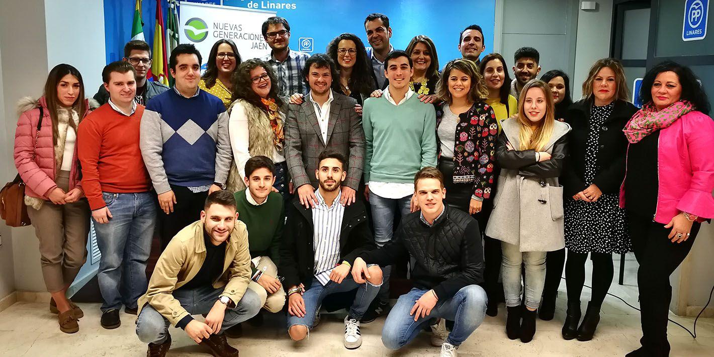 Martín de la Torre nuevo presidente de Nuevas Generaciones de Linares