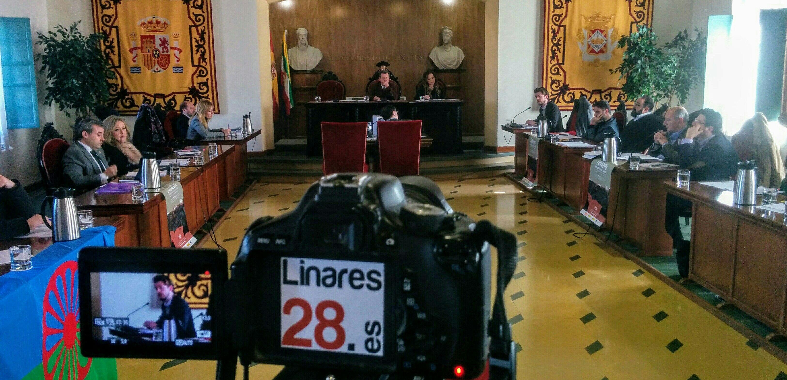 DIRECTO | Pleno Ordinario del Ayuntamiento de Linares