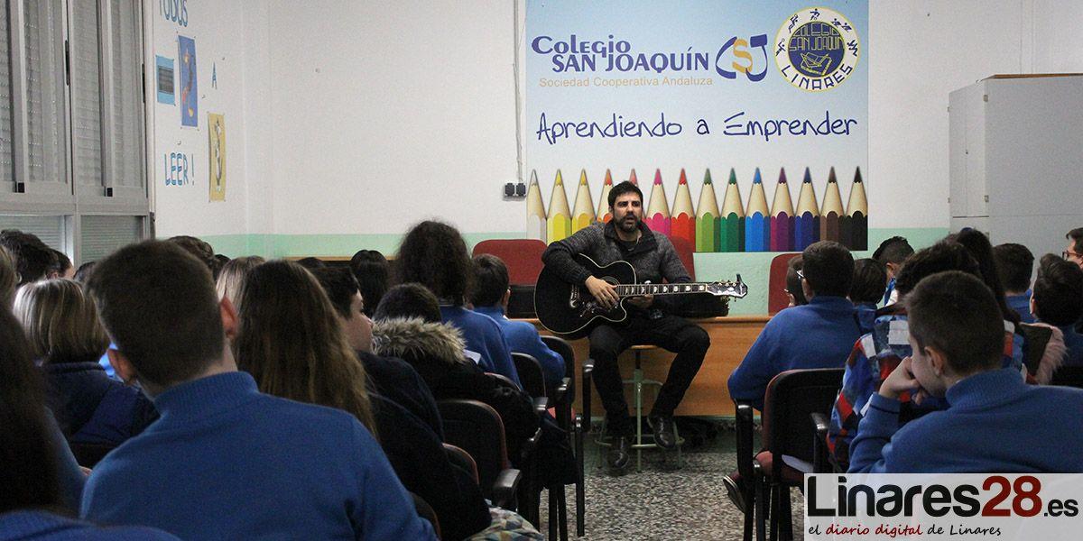 Concierto didáctico de 'Subtónica' en el Colegio San Joaquín