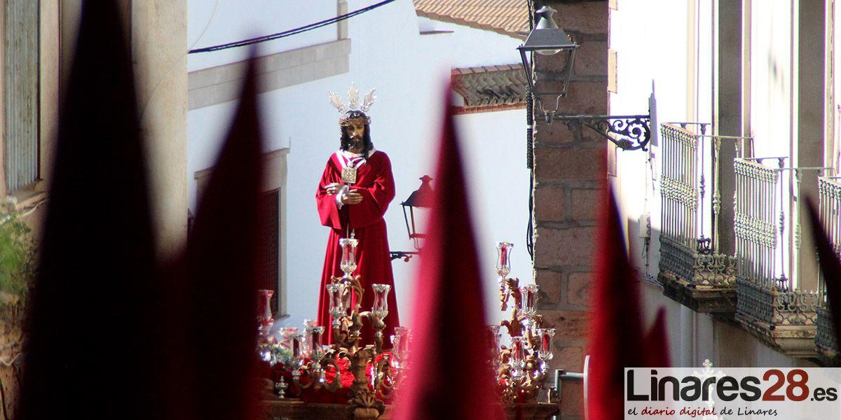 """""""El Rescate"""" abre la puerta del Jueves Santo linarense"""
