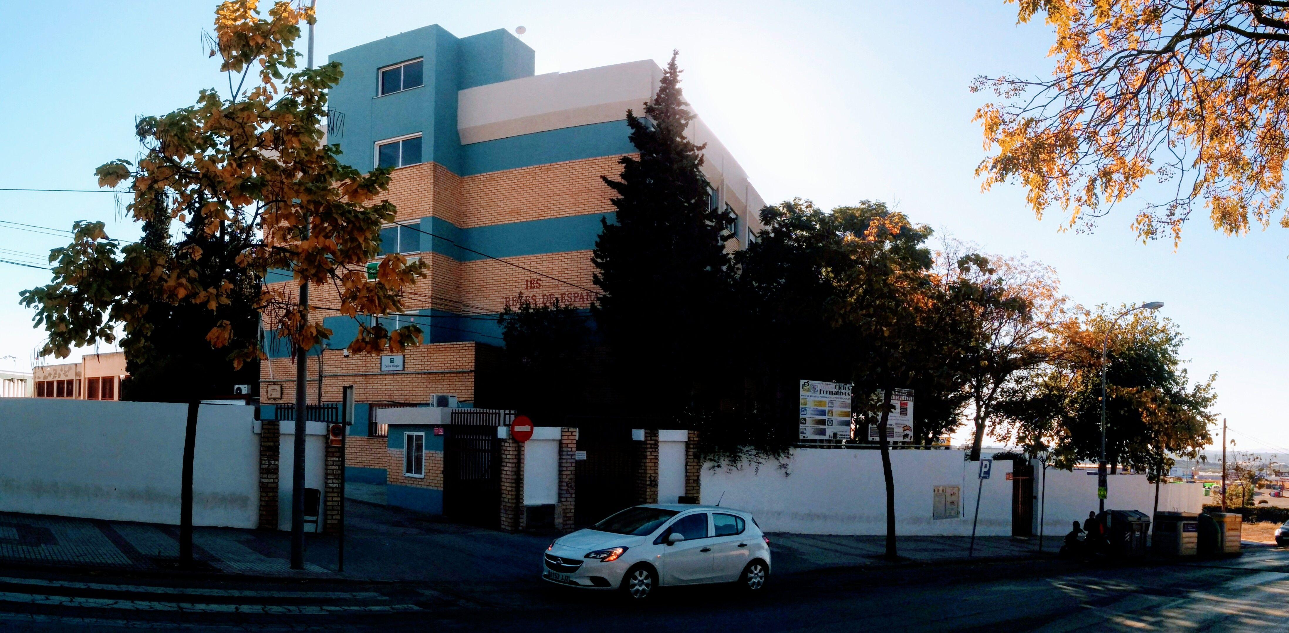 350.000 euros para las obras de ampliación del IES Reyes de España