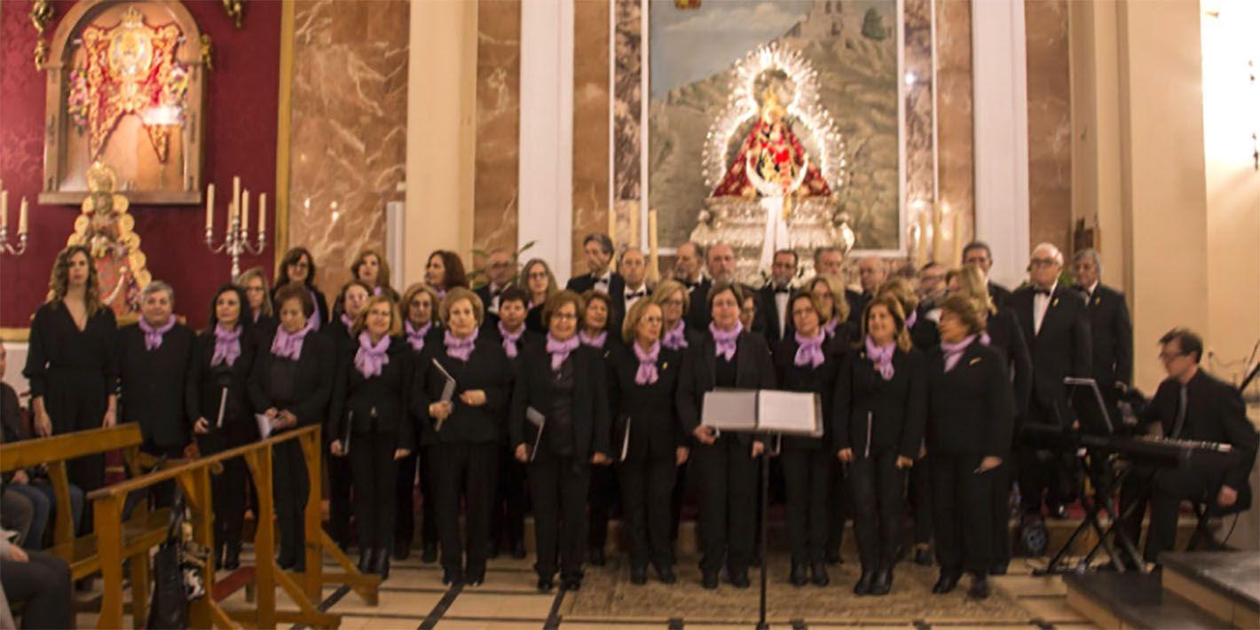 La Coral Andrés Segovia interpretó el 'Stabat Mater'