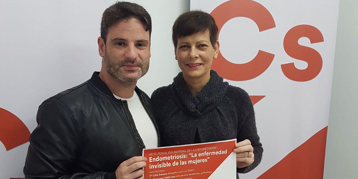 Ciudadanos aborda los problemas de la Endometriosis el próximo martes en salón de actos de la Casa de la Cultura