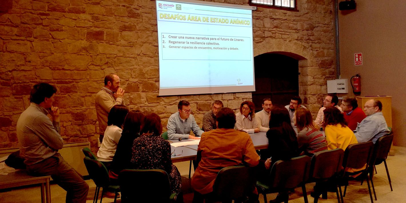 Jornada Inclusión Laboral, participación ciudadana y colaboración pública de la Escuela de Economía Social