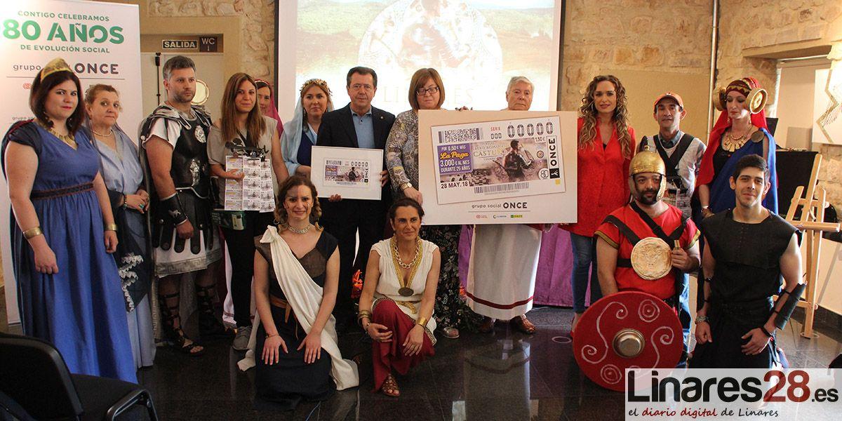 La ONCE dedica un cupón a la Fiestas Ibero Romanas de Cástulo