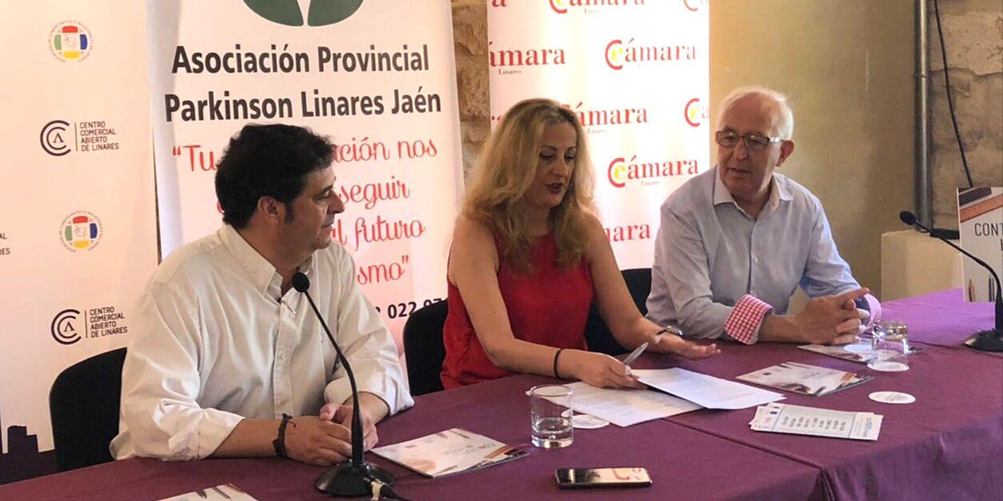 """Cámara de Comercio y ACIL se acogen al proyecto """"Contrato Humano"""" de la Asociación Provincial Parkinson Linares-Jaén"""