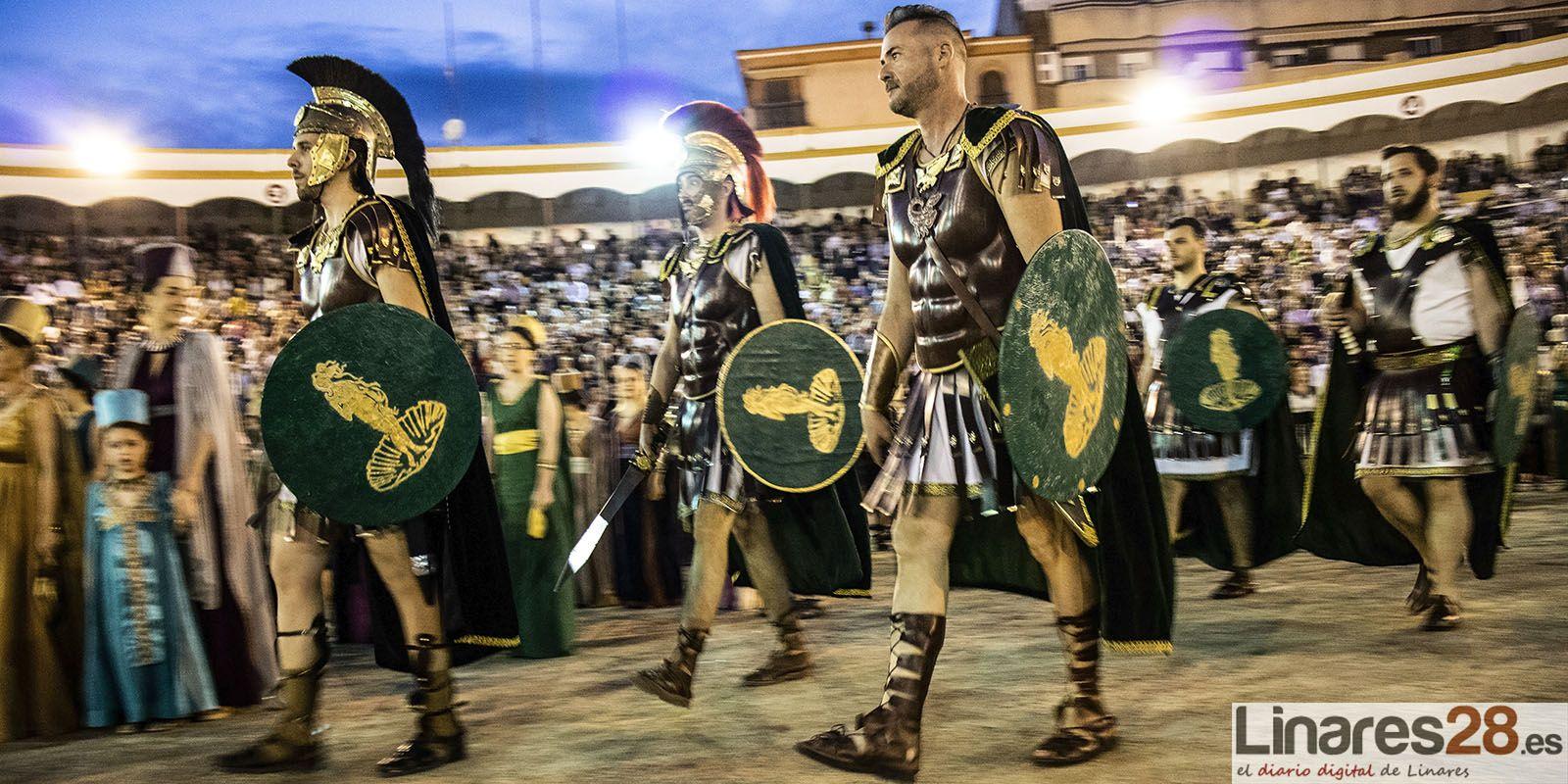 VÍDEO DE 360º | Desfile en el 'Circo Romano' de Linares