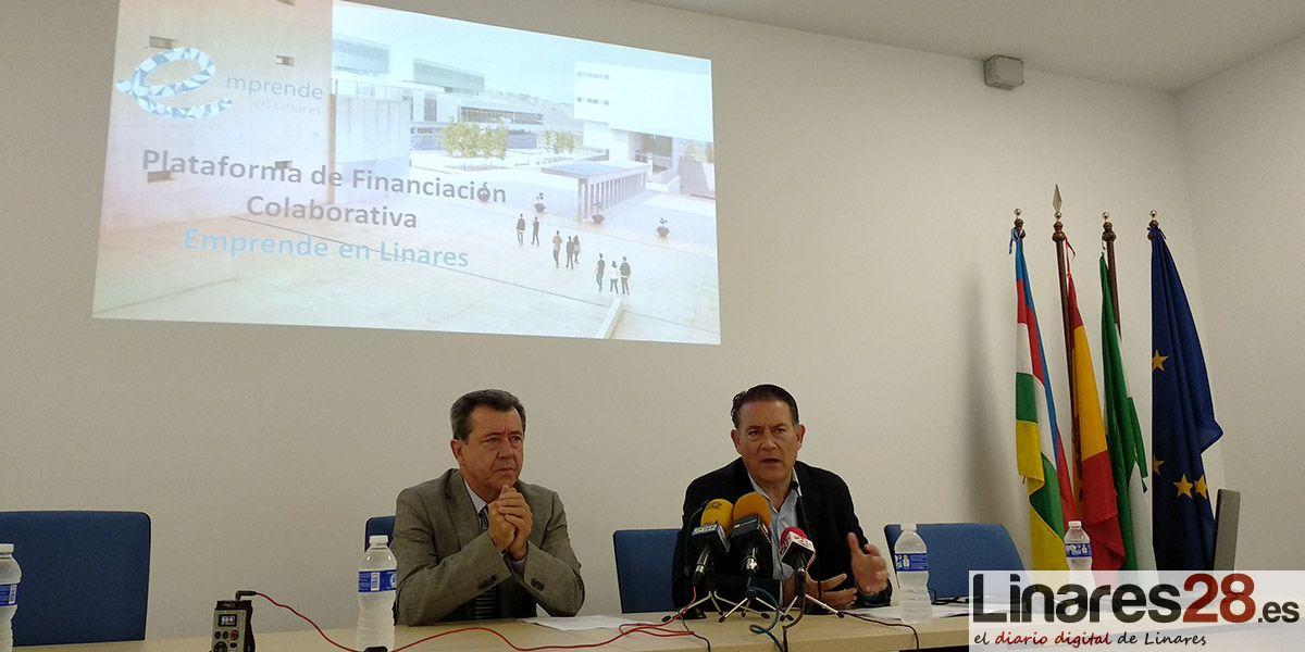 'Emprende en Linares' posibilita la financiación para emprendedores también a través de 'crowdfounding'