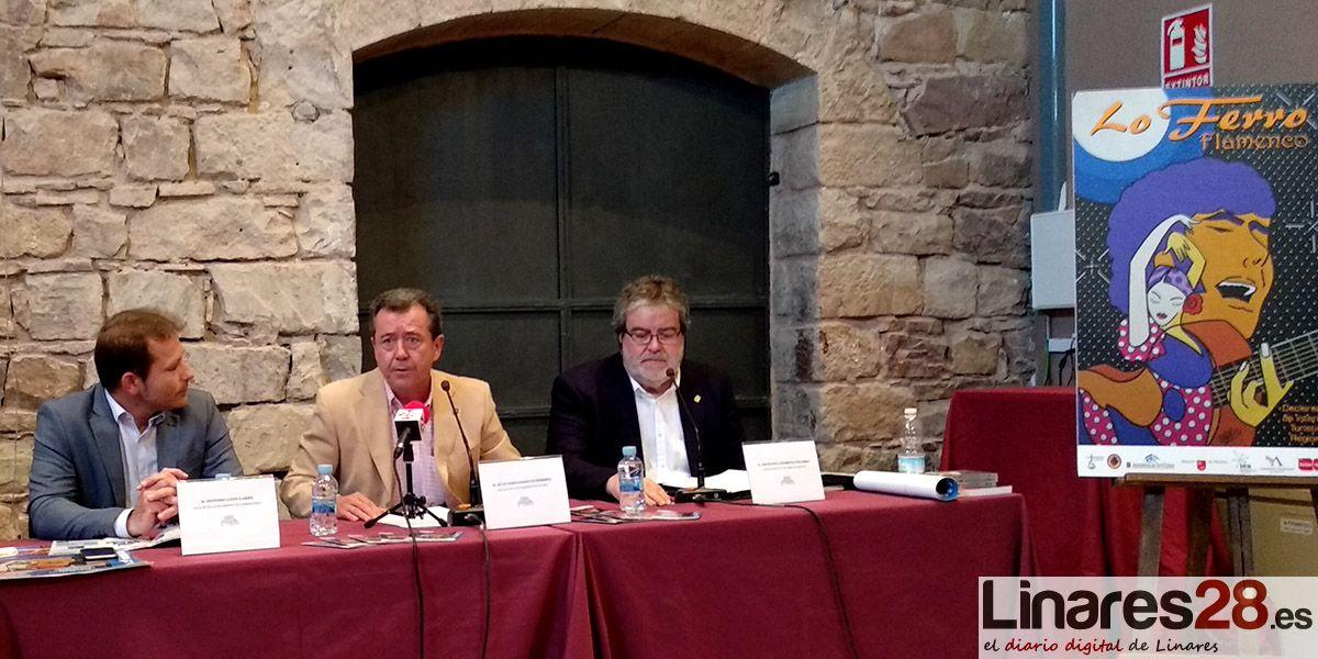 """Linares recibirá la """"Medalla de Oro"""" del Festival de Cante Flamenco de 'Lo Ferro'"""