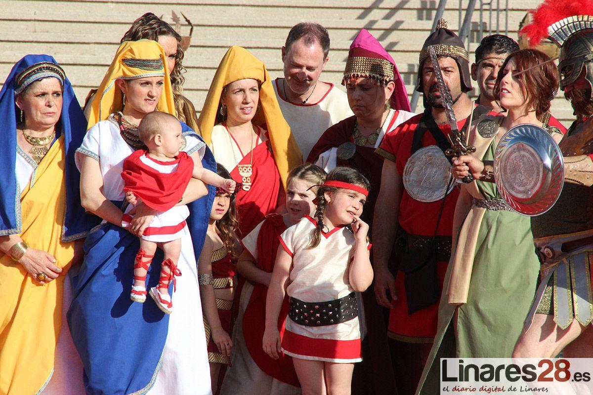 Linares rinde homenaje a los participantes en las Fiestas de Cástulo