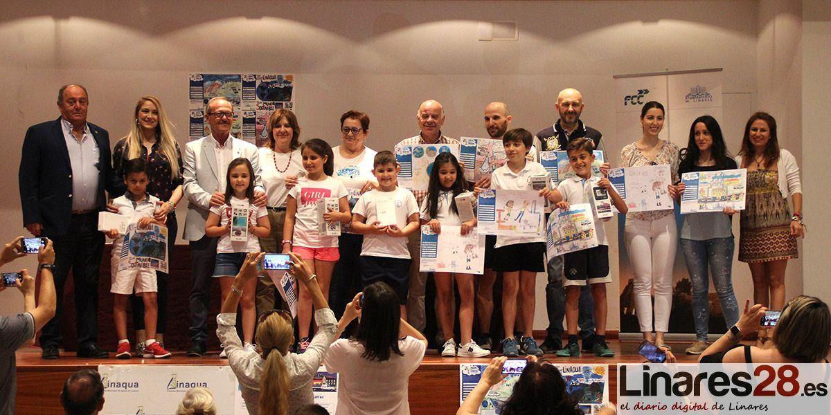 Linaqua entrega los premios de su Concurso de Dibujo Infantil