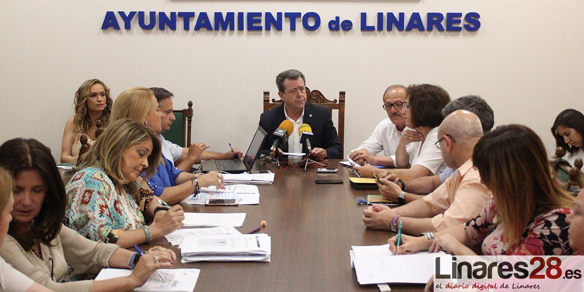 Linares aprueba sus cuentas de 2016