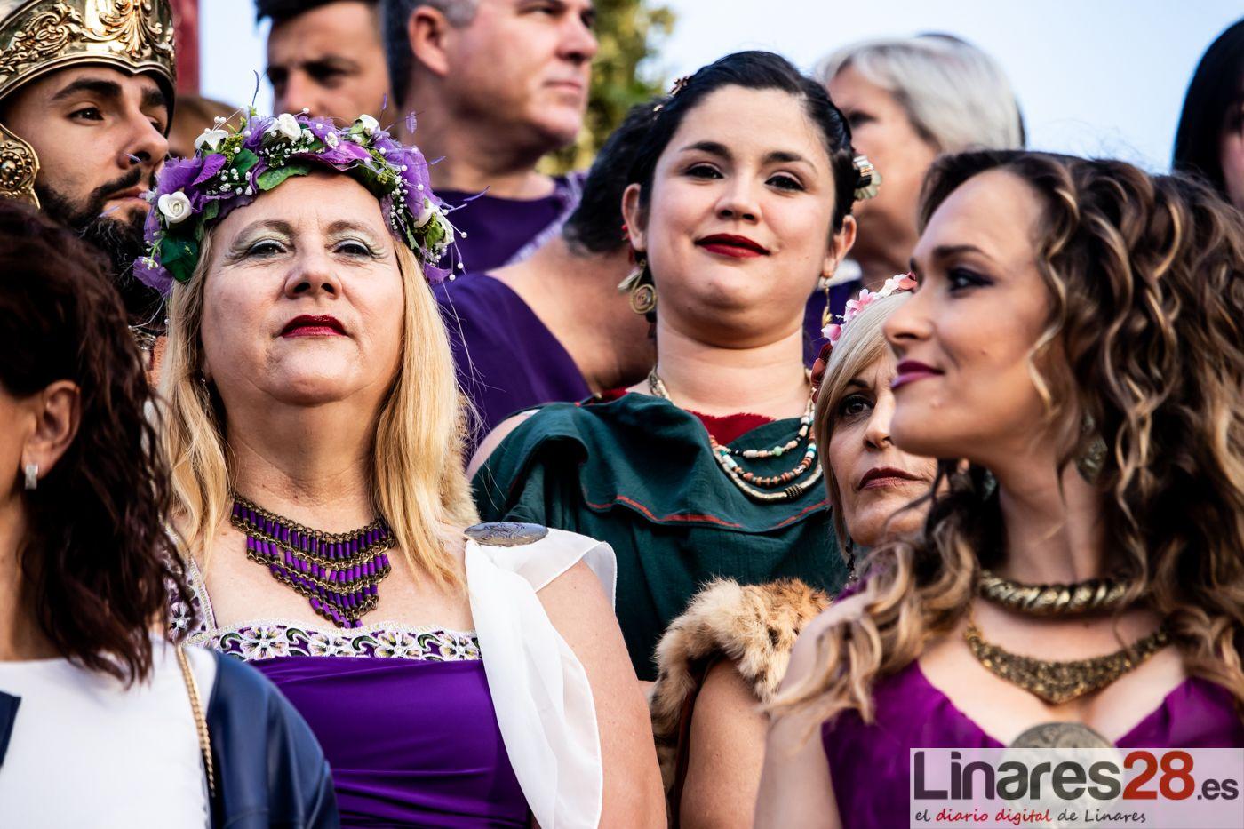 Las Fiestas Íbero Romanas de Cástulo superan las expectativas con más de 35.000 asistentes