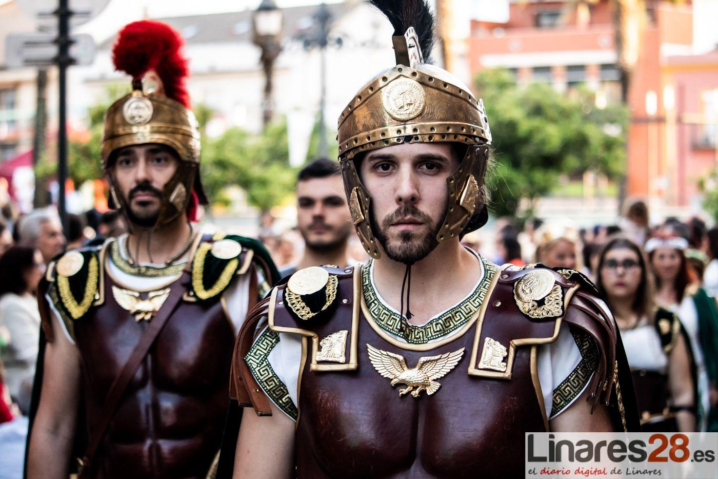VÍDEO | Las tropas íberas, cartaginesas y romanas entran en Linares