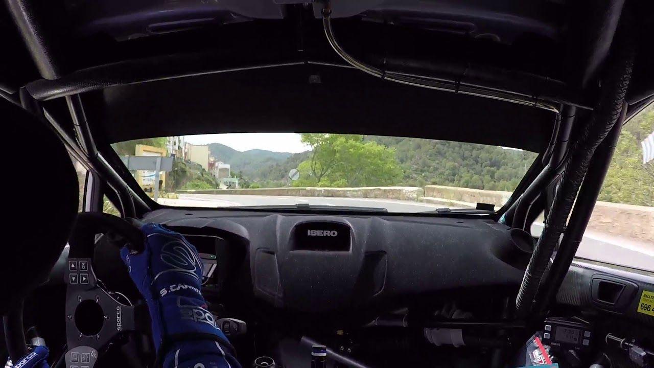 Nueva victoria de Carlos Chamorro en el Campeonato de la Comunidad Valenciana de Rallyes de Asfalto