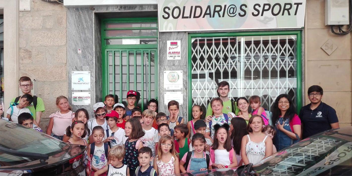 Solidari@s Sport cierra el curso con una intensa actividad.