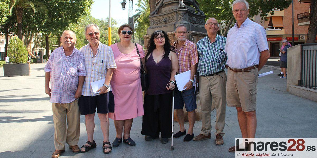Los pensionistas vuelven a la carga mañana en Linares