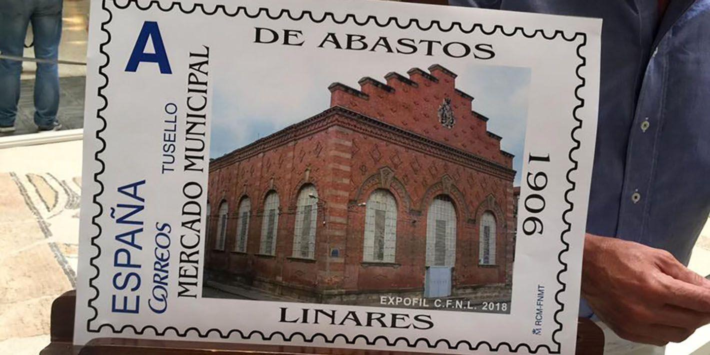 CORREOS se suma al homenaje al Mercado de Abastos de Linares