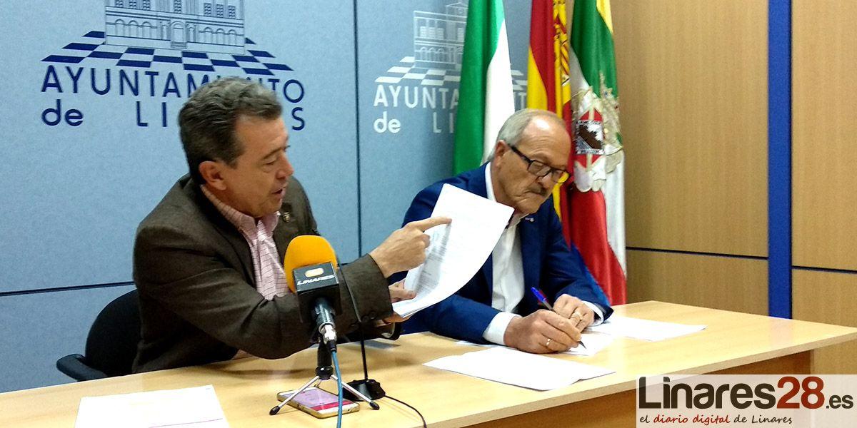 VÍDEO | Indignación en Linares por las declaraciones del Consejero de Empleo