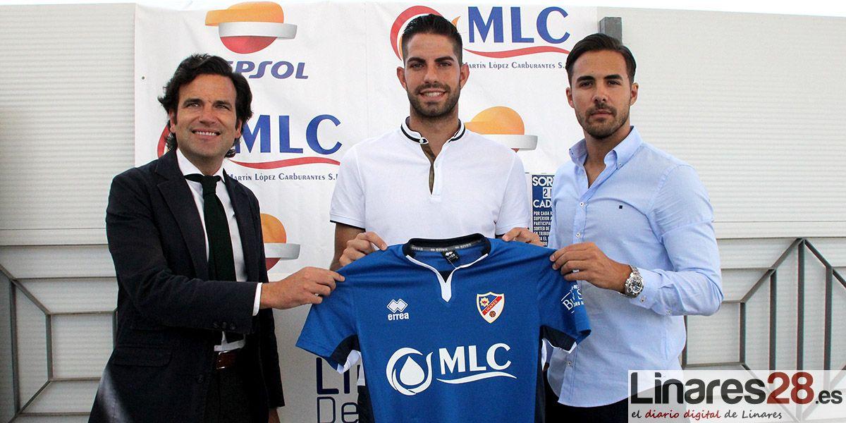Presentación de Javi Bolo, nuevo jugador del Linares Deportivo