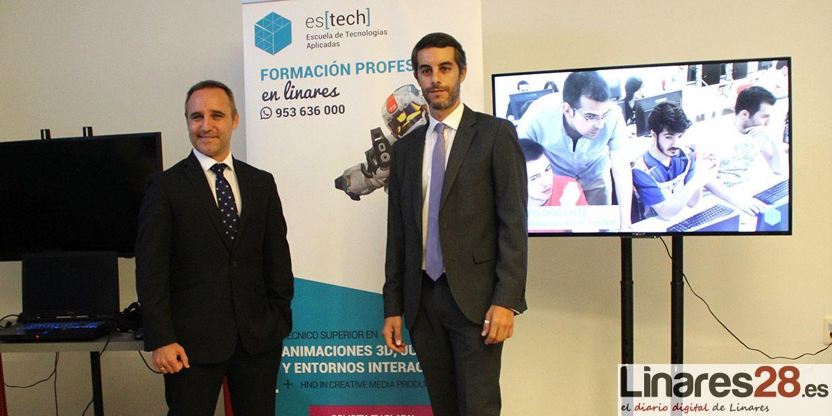 La Escuela de Tecnologías Aplicadas es[tech] abre sus puertas en Linares