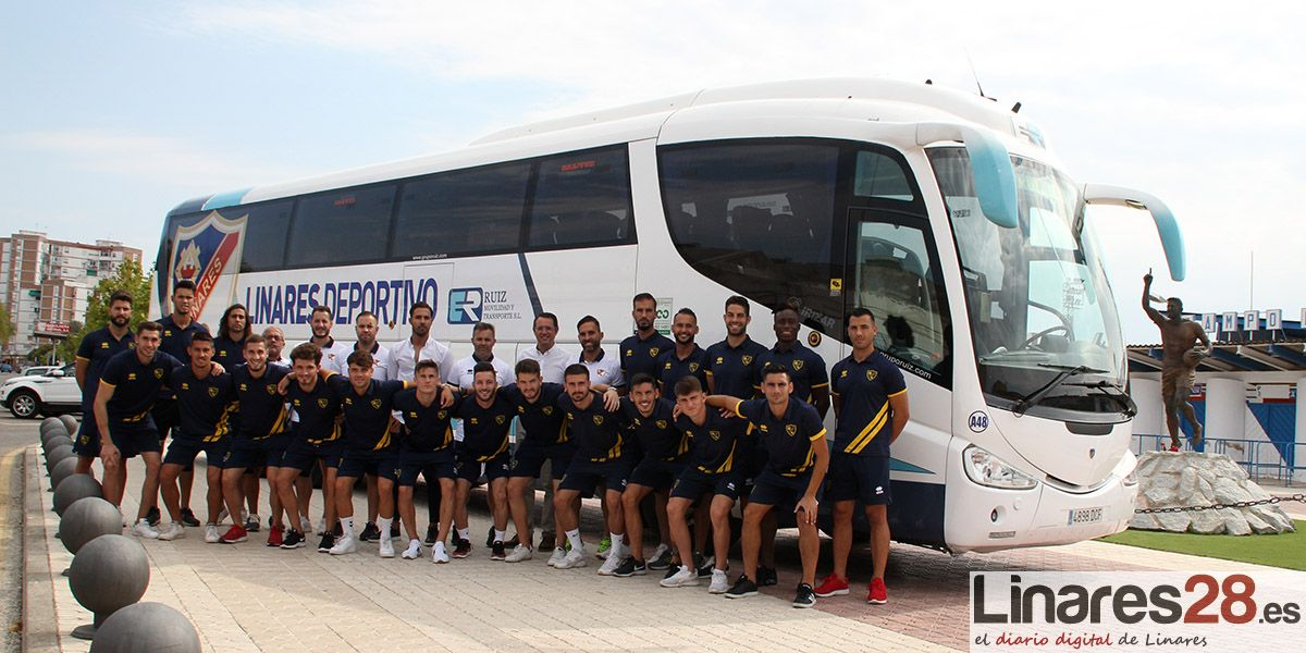 Un bus de primera para un gran Linares Deportivo