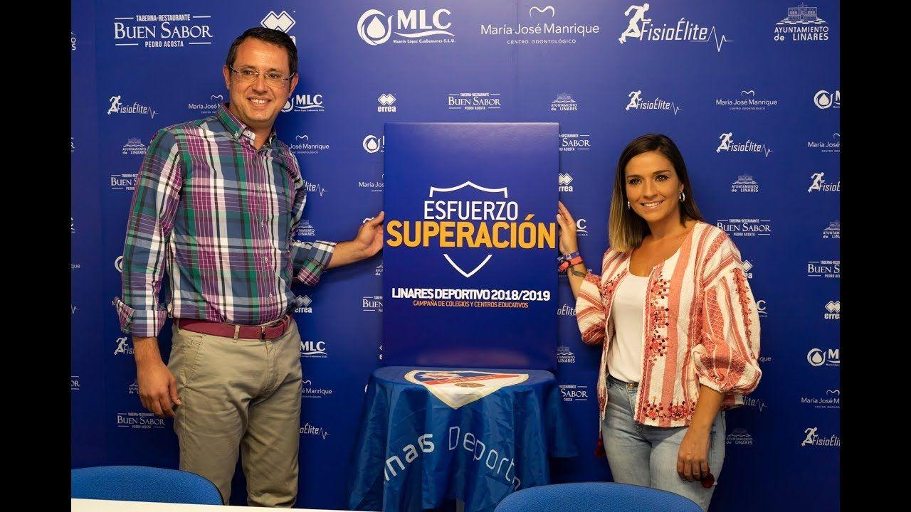 EL Linares Deportivo presenta la campaña 'Esfuerzo y superación'