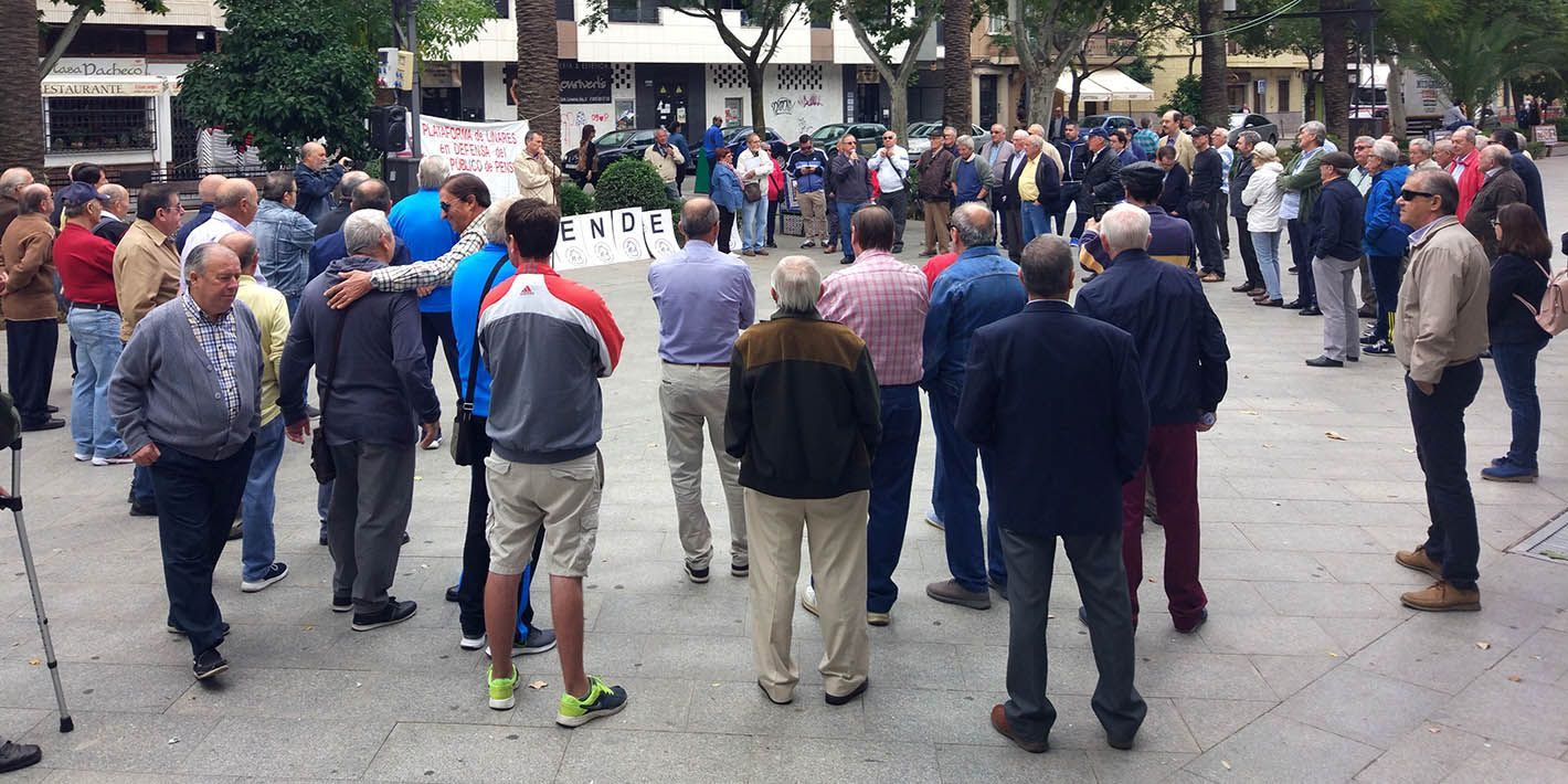 """Nuevo lunes de reivindicación por unas """"pensiones dignas"""" en Linares"""