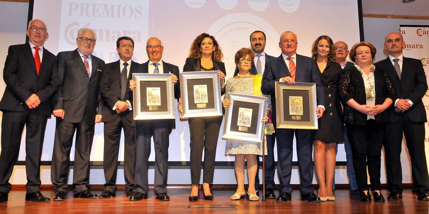 Entregados los premios de la Cámara de Comercio de Linares 2018