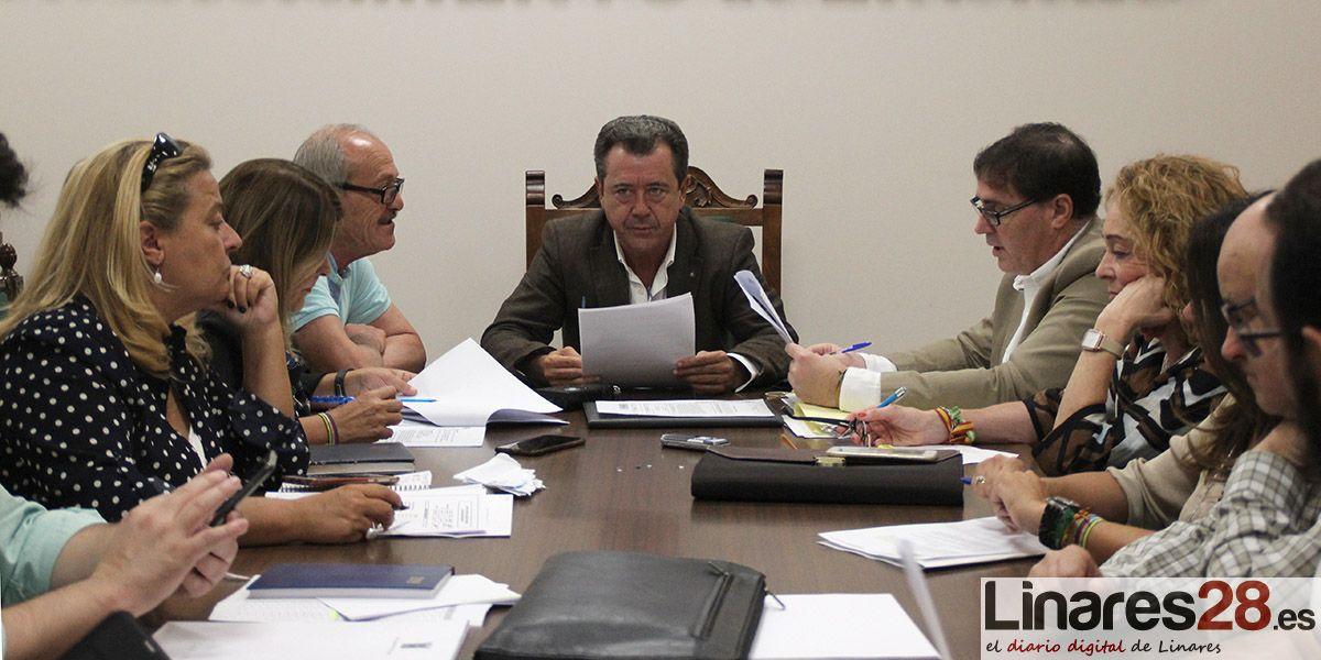 Pleno Extraordinario del Ayuntamiento de Linares