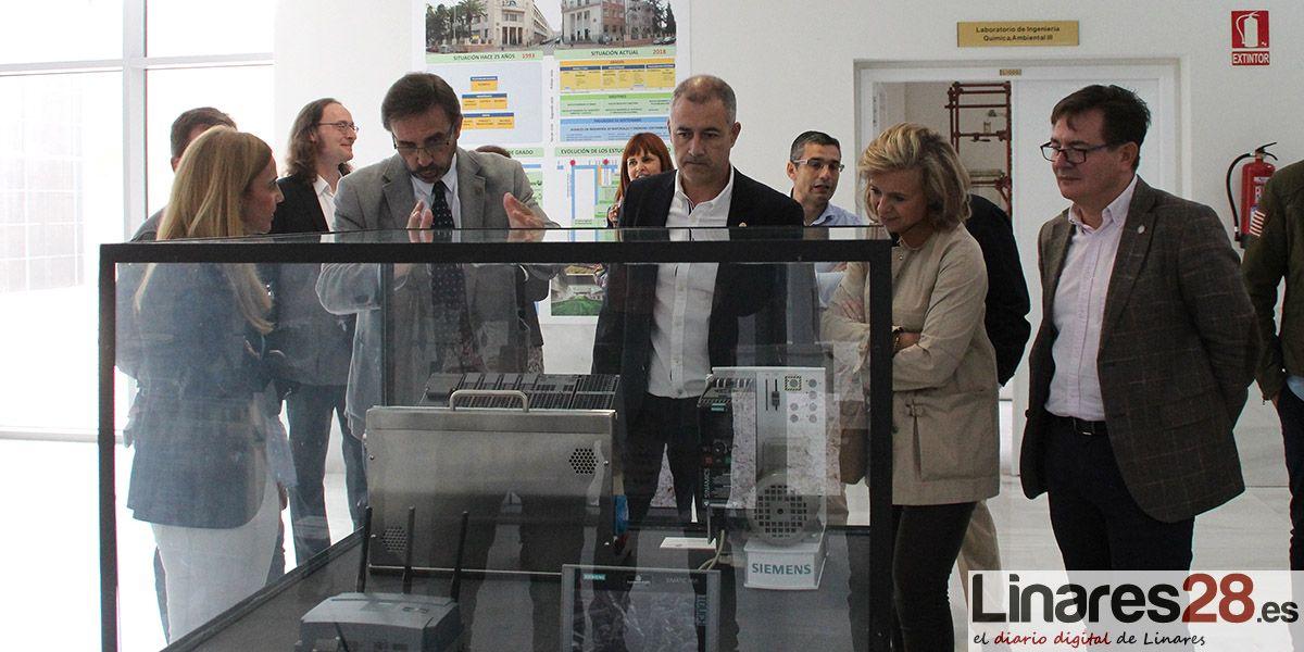 El Campus de Linares acoge dos muestras con motivo del 25 aniversario de la UJA