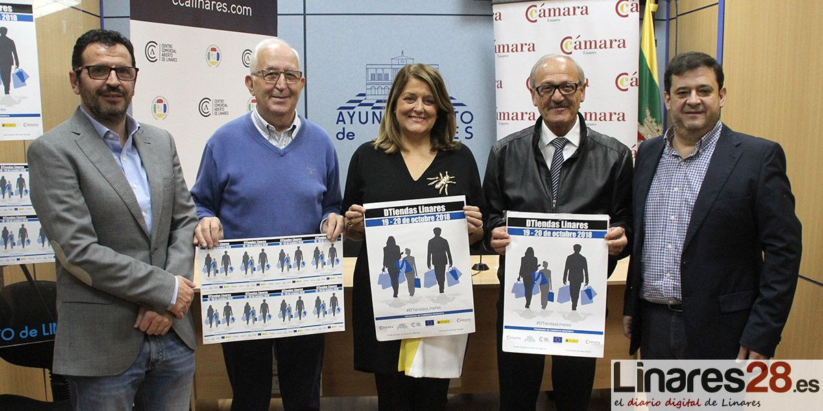 'DTiendas Linares' impulsa de nuevo el otoño comercial en la ciudad