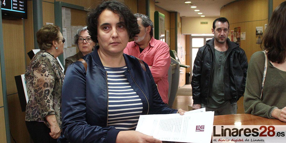 Podemos Linares registra la solicitud para pertenecer al Consejo Sectorial