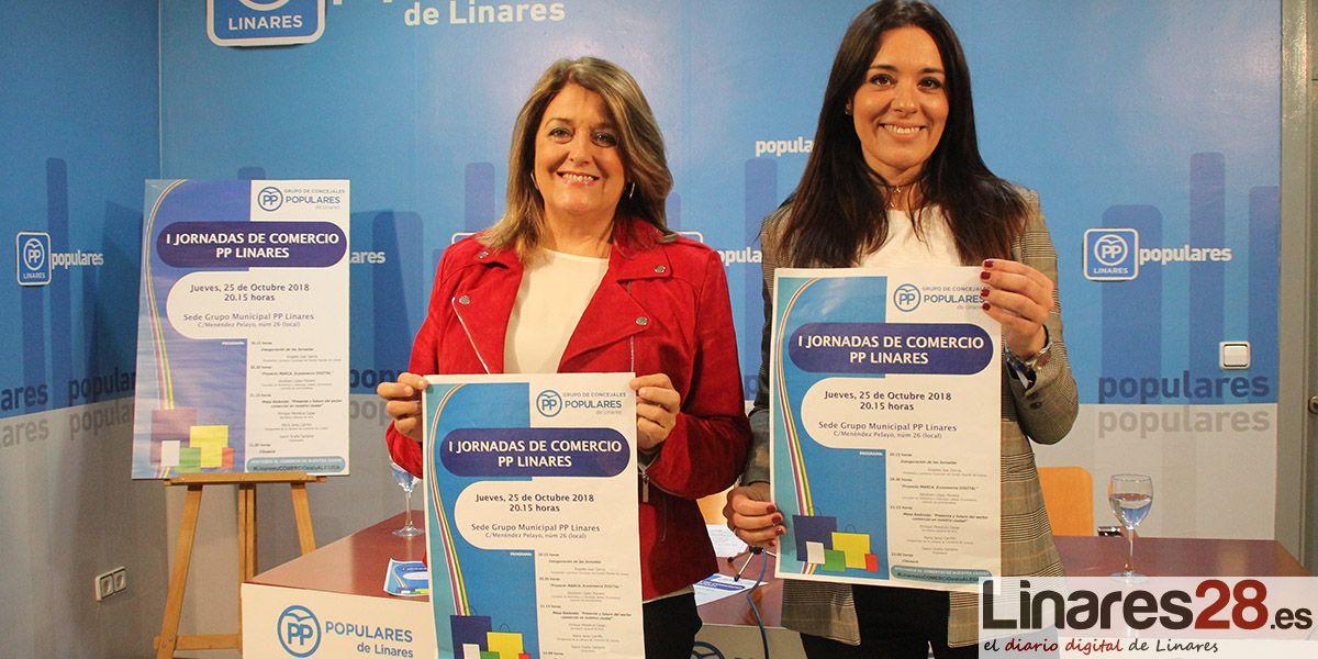 """El Partido Popular contempla como """"prioridad incuestionable"""" situar de nuevo a Linares como referente comercial de la provincia"""