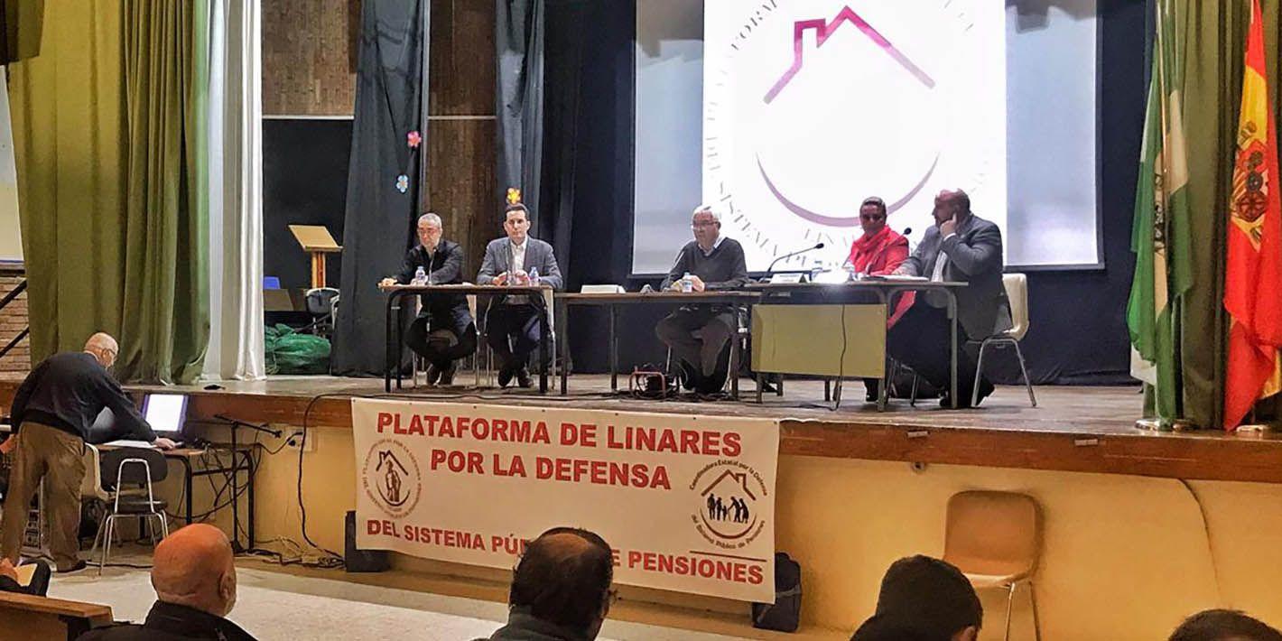 Ciudadanos afirma en Linares que agilizará los trámites para las ayudas a Dependencia de personas mayores