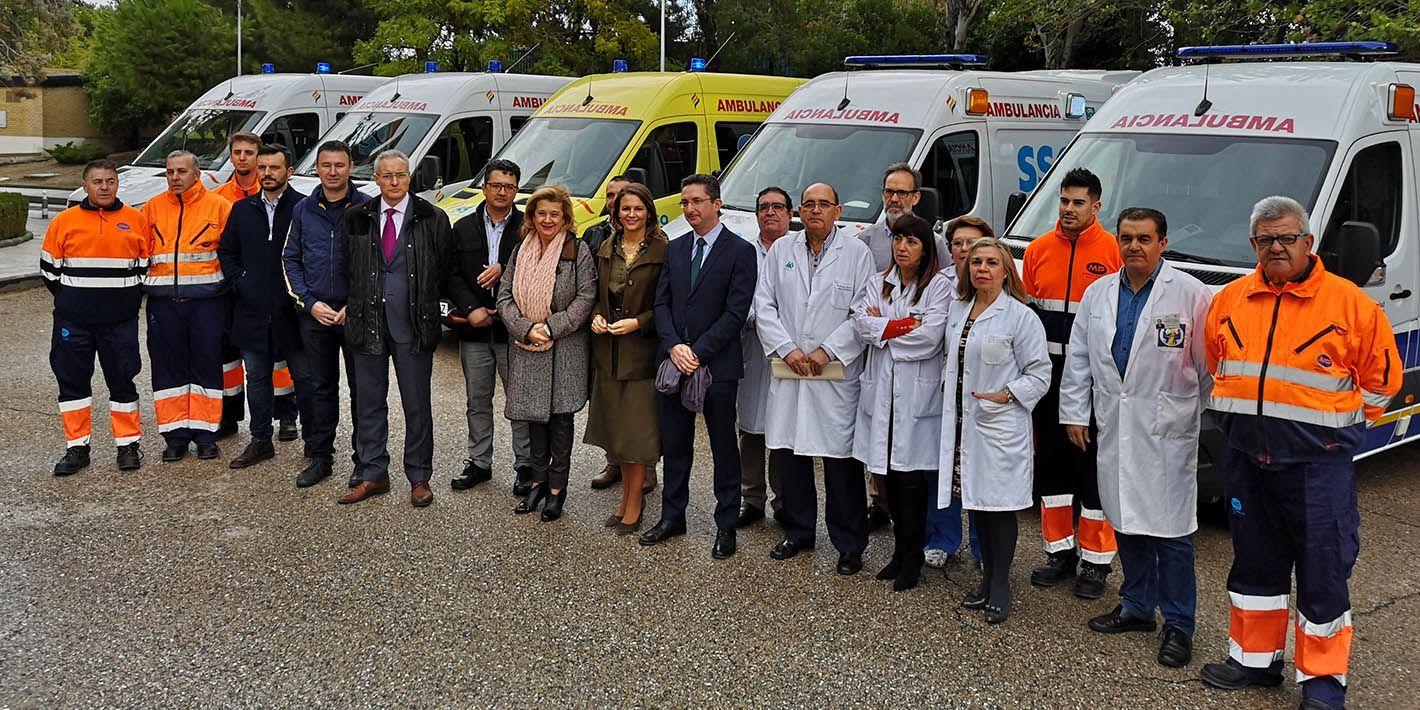 21 nuevas ambulancias para atender al Hospital de Linares