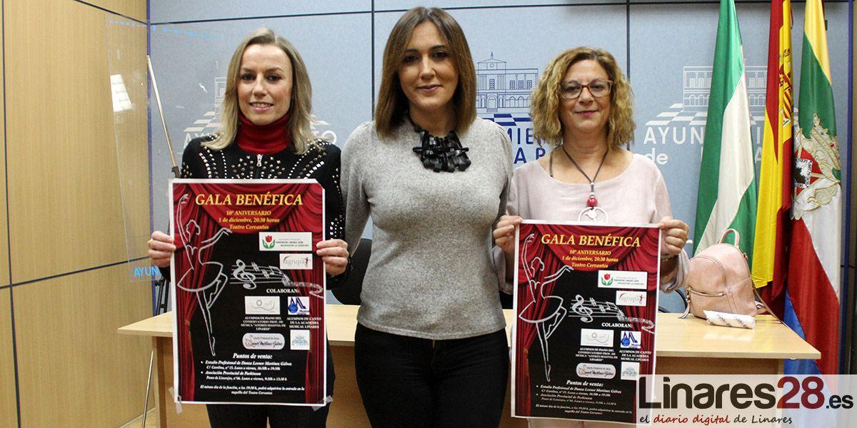 La Asociación Provincial de Parkinson de Linares celebra su 10º Aniversario con una Gala Benéfica