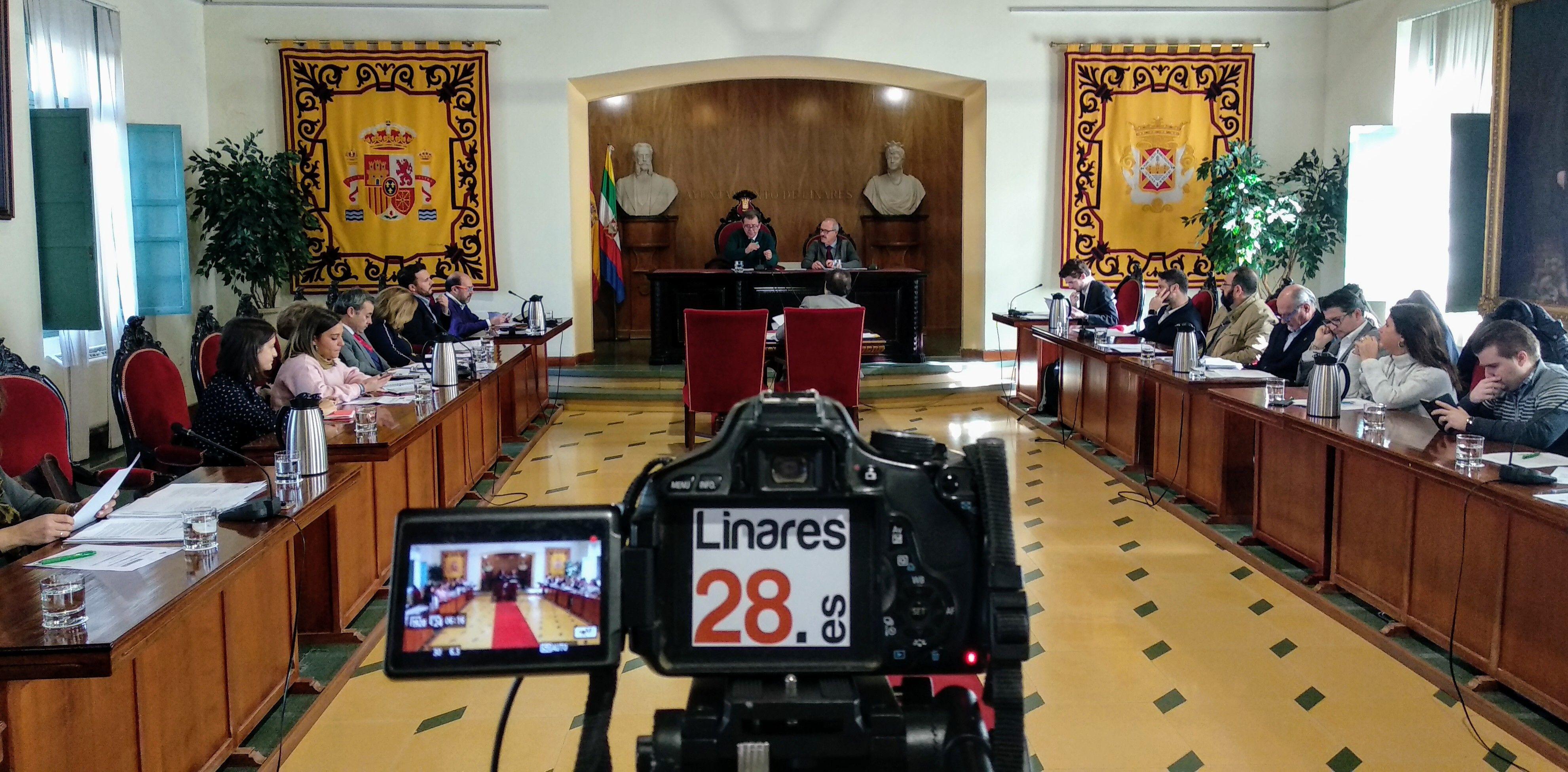 AHORA | Pleno Ordinario del Ayuntamiento de Linares