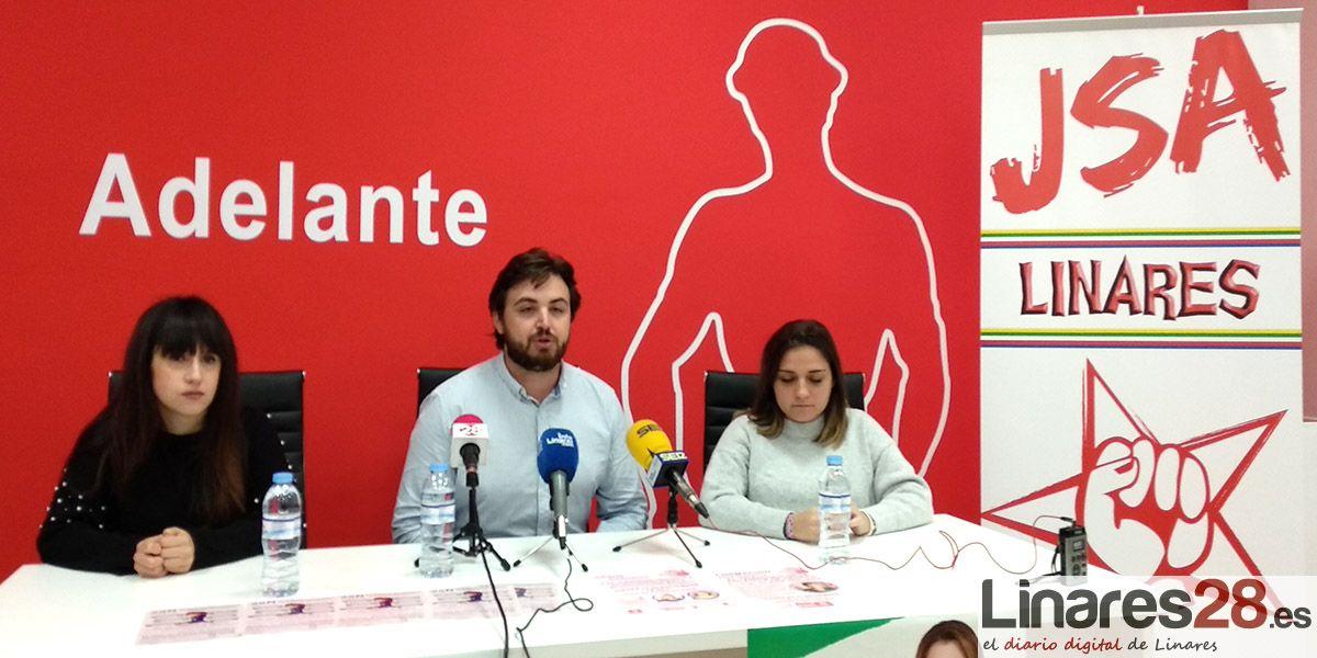 Juventudes Socialistas de Linares apuesta por la formación contra la violencia machista