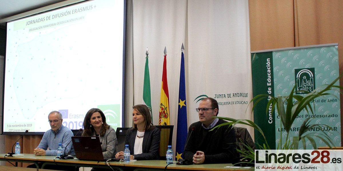 VÍDEO | Linares acoge una jornada de difusión del programa Erasmus+