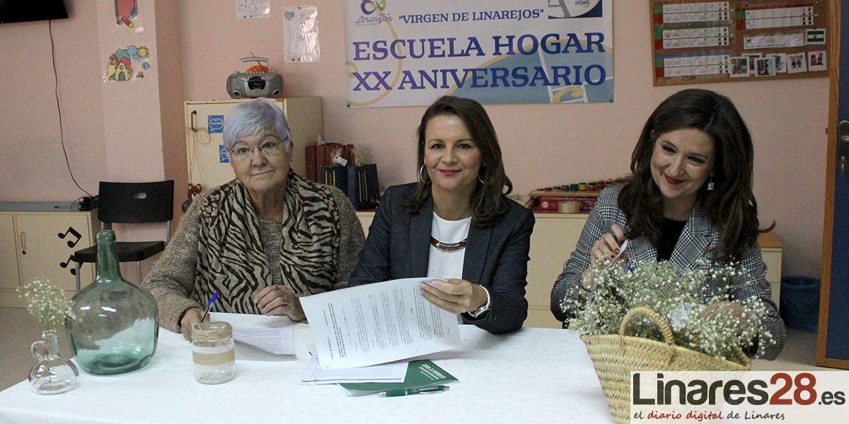 VÍDEO | Un impulso para la Escuela Hogar de Aprompsi en Linares