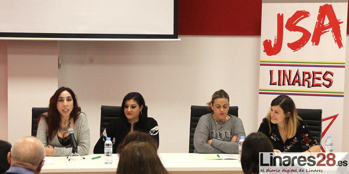 Charla-coloquio sobre violencia sexual hacia las mujeres de la mano de JJ.SS. de Linares