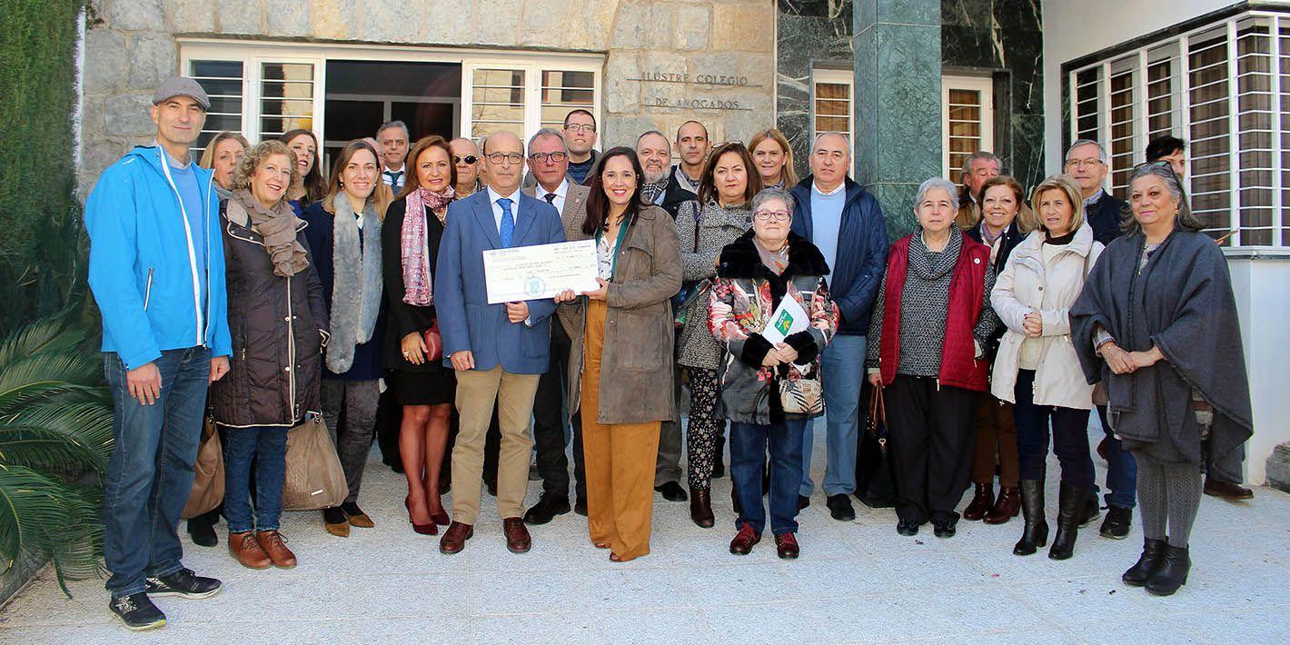 El Colegio de Abogados de Jaén expande su solidaridad a Linares