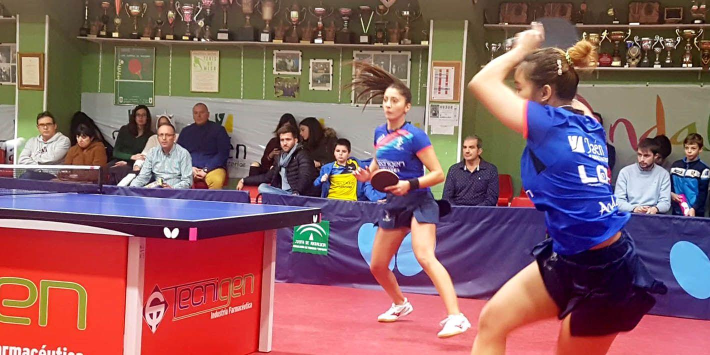 El Tecnigen Linares se afianza en la Superdivisión femenina de Tenis de Mesa