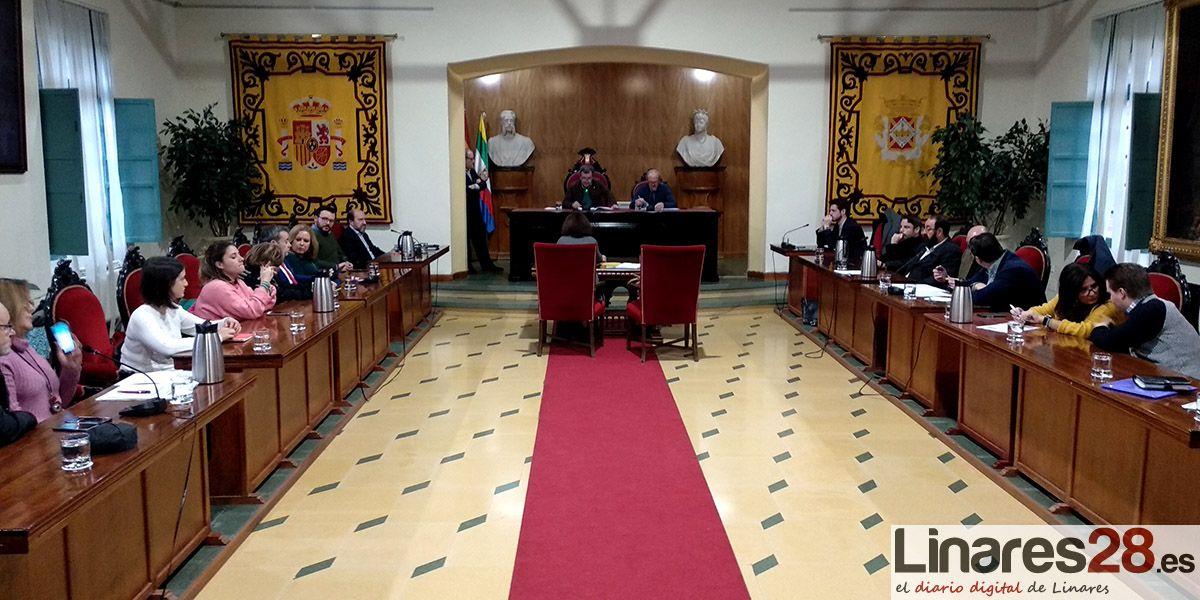 VÍDEO | Pleno Extraordinario del Ayuntamiento de Linares